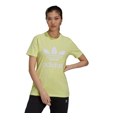 Camiseta-adidas-Adicolor-Feminina-Amarela