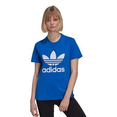 Camiseta-adidas-Trefoil-Feminina-Azul