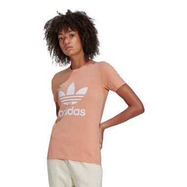 Camiseta-adidas-Classic-Trefoil-Feminina-Bege