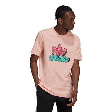 Camiseta-adidas-Funny-Dino-Masculina-Rosa