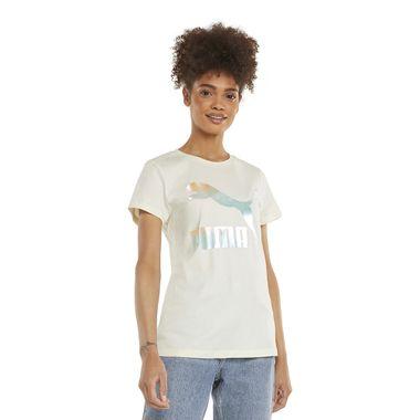 Camiseta-Puma-Classic-Logo-Feminina-Cinza