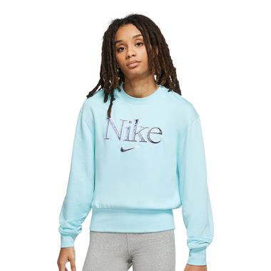 Blusa-Nike-Femme-Fleece-GX-Feminina-Azul
