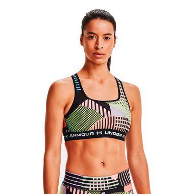 Top-Under-Armour-Mid-Crossback-Printed-Feminino-Multicolor