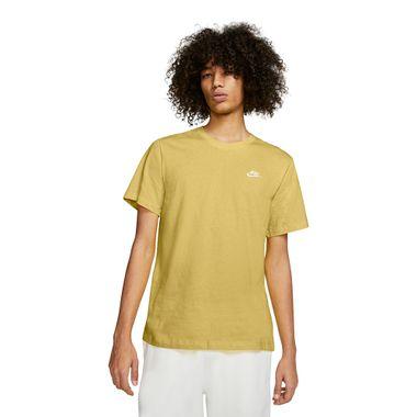 Camiseta-Nike-Club-Masculina-Amarelo