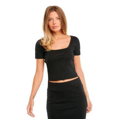 Camiseta-Puma-Classic-Fitted-Feminina-Preta