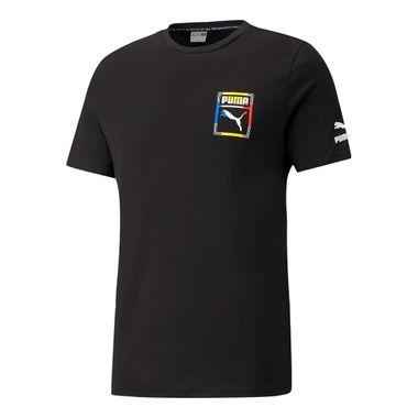 Camiseta-Puma-Logo-Play-Graphic-Masculina-Preta