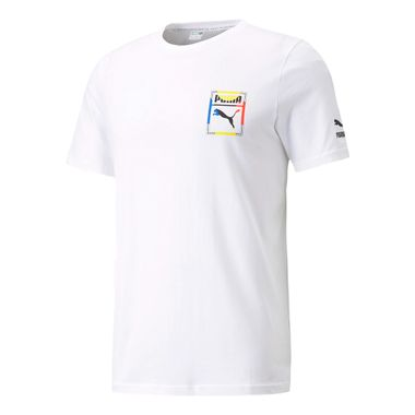 Camiseta-Puma-Logo-Play-Graphic-Masculina-Branca