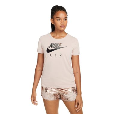 Camiseta-Nike-Air-Top-Feminina-Bege