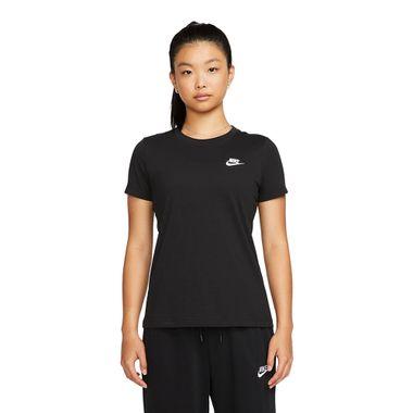 Camiseta-Nike-Club-Feminina-Preto