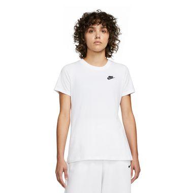 Camiseta-Nike-Club-Feminina-Branca