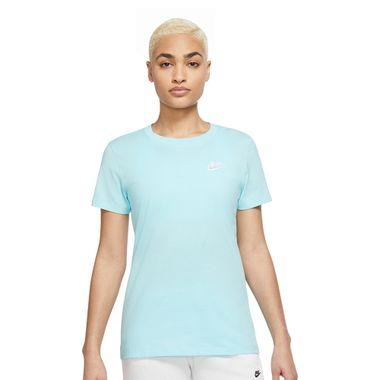 Camiseta-Nike-Club-Feminina-Azul